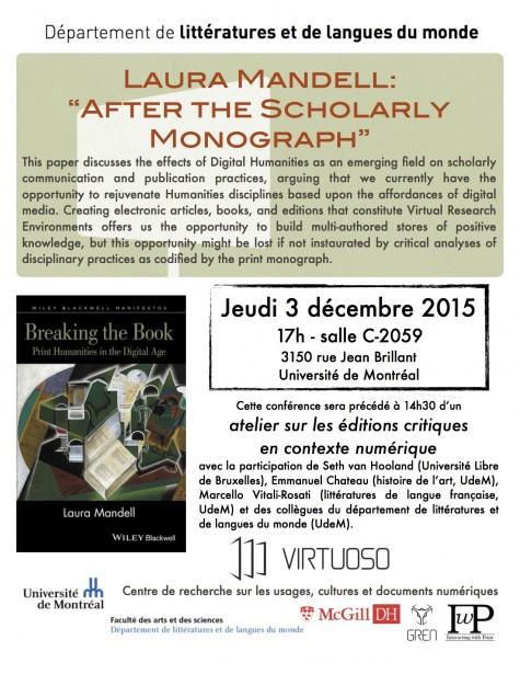 Poster Mandell December 2015